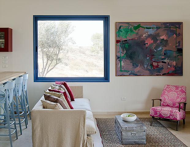 הקפידו על מרווח של 40 סנטימטרים לפחות, בין השטיח והקיר